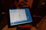 Windows 7 running via Wyse Pocket Cloud remote access on a iPad. Yes, it looks kinda weird.