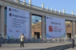 The Mobile World Congress 2012 is held at the Fira, Barcelona.