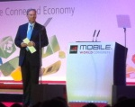 "Eric Schmidt, chairman of Google. ""Technology is making sci-fi real"", he said."