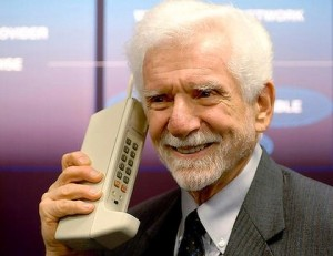 Martin Cooper, a senior engineer at Motorola, who made the first mobile call