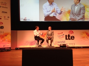 Informa's chief research analyst Mark Newman and Vodafone Netherlands CEO, Rob Shuter