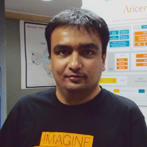 Kaushal Sarasia, Assistant Manager, Marketing for Aricent.