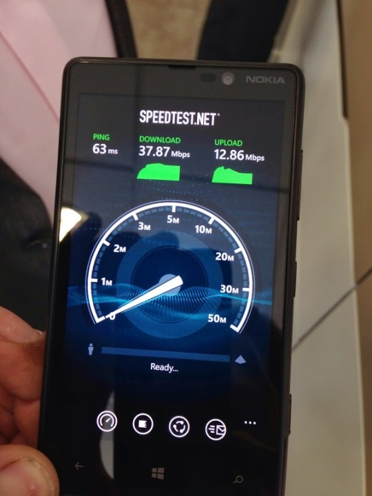 O2 launch day LTE speed test