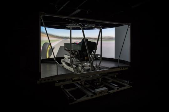 Caterham Simulator 3