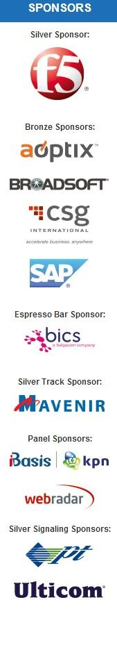LTE LATAM 2014 sponsors