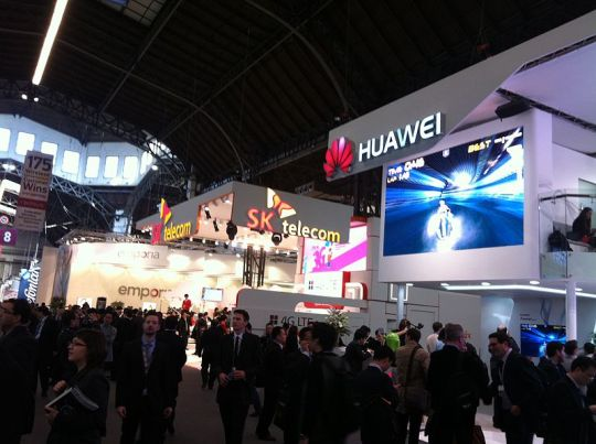 mobile world congress floor pic