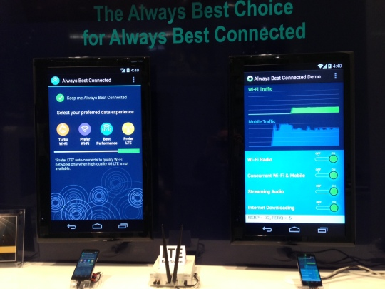 Devicescape two phones