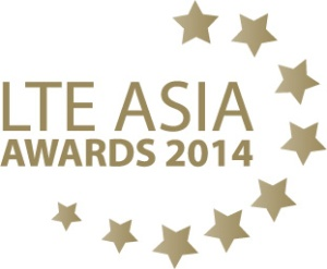 LTE Asia Awards 2014 logo