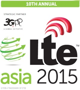 Meet Jawad and 100+ VIP Speakers at LTE Asia 2015 in Singapore, October 5th-7th